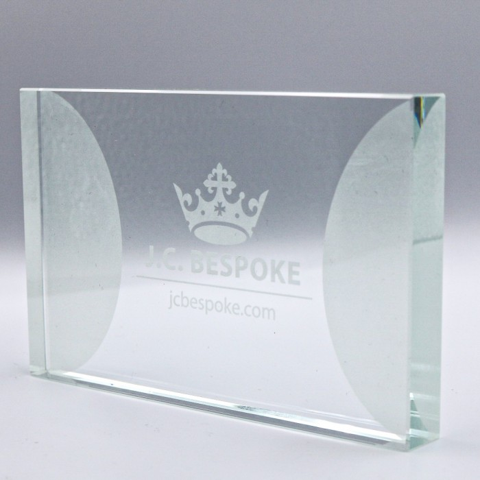 EXPRESS GLASS AWARD  - 113MM (15MM THICK) - AVAILABLE IN 3 SIZES