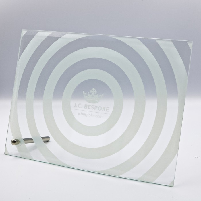 EXPRESS GLASS AWARD  - 100MM (4MM THICK) AVAILABLE IN 3 SIZES
