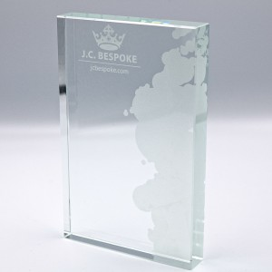 EXPRESS GLASS AWARD - 128MM (15MM THICK) - AVAILABLE IN 3 SIZES