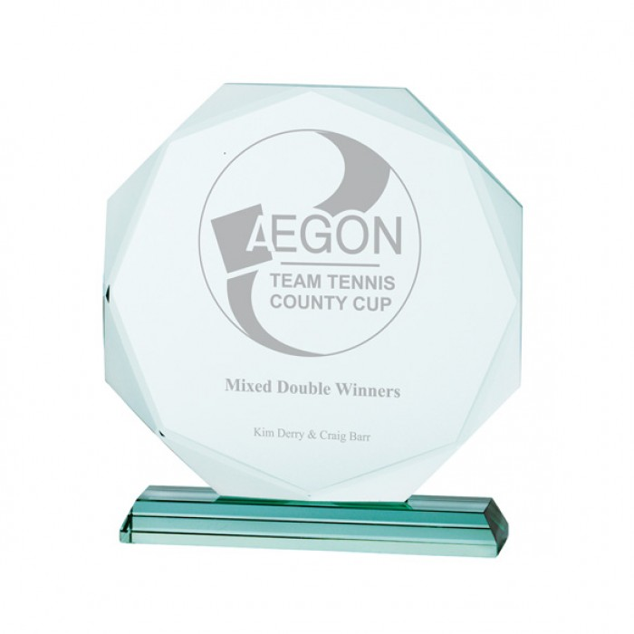 ASPIRE JADE GLASS AWARD - 150MM - AVAILABLE IN 4 SIZES