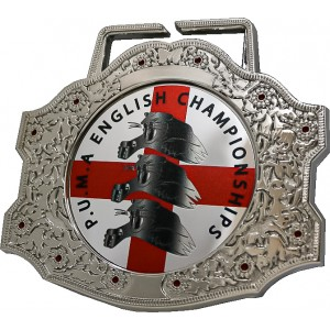 85MM XXL SILVER CHAMPIONSHIP BELT MEDAL (6MM THICK) **STUNNING DESIGN**