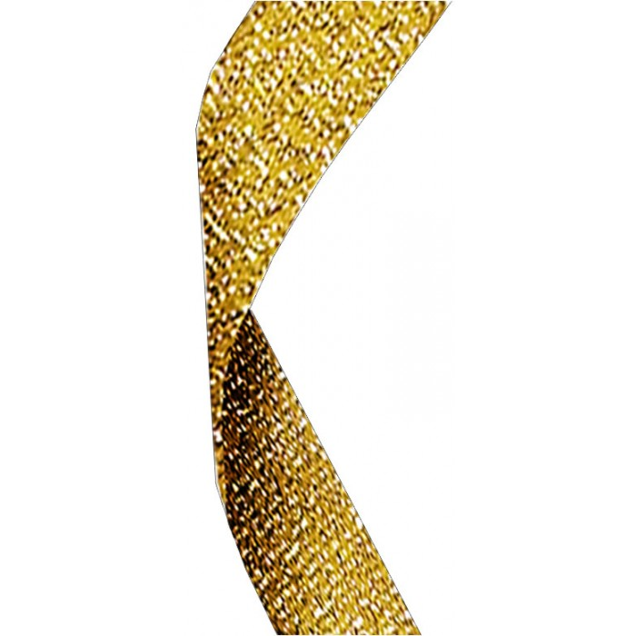 22MM GOLD GLITTER RIBBON