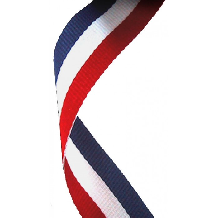 22MM RED, WHITE & BLUE RIBBON
